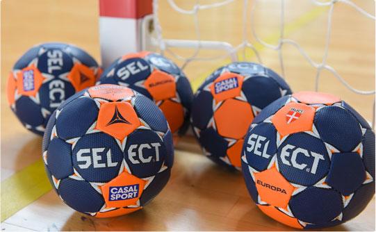 La composition du ballon de handball