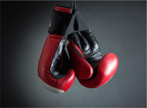 Entretenir ses gants de boxe