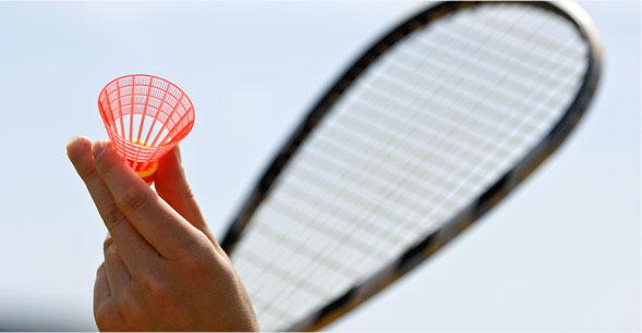 La naissance du speed-badminton