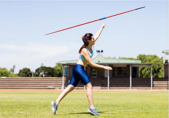 Règles du lancer de javelot, disque, marteau, poids