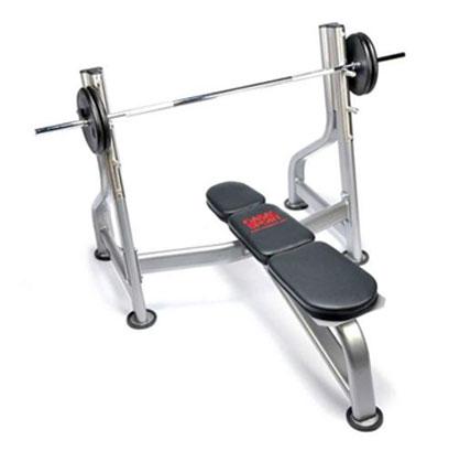 Le banc de musculation avec repose barre