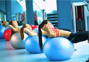 Bien choisir son gym ball