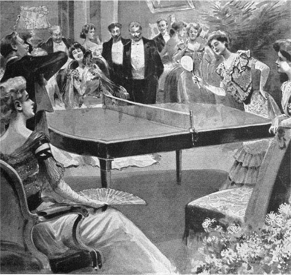 L'histoire du tennis de table