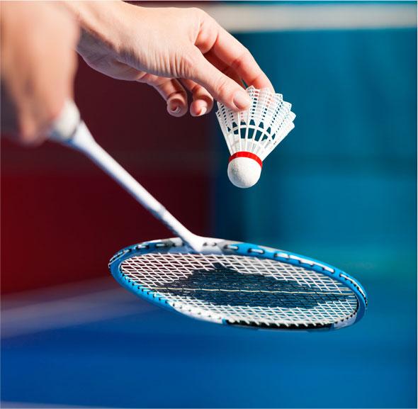 La pratique scolaire du badminton