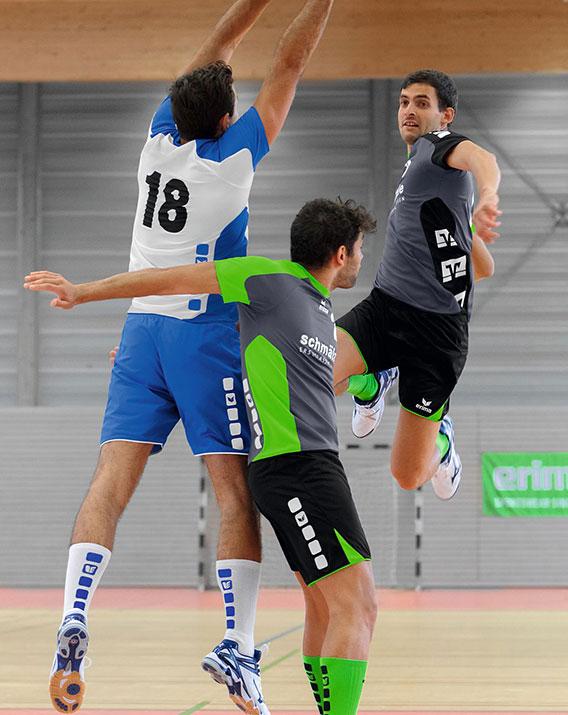 Le poste de demi-centre au handball