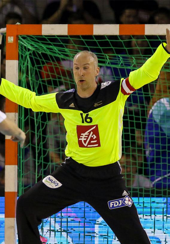 Le poste de gardien de but au handball