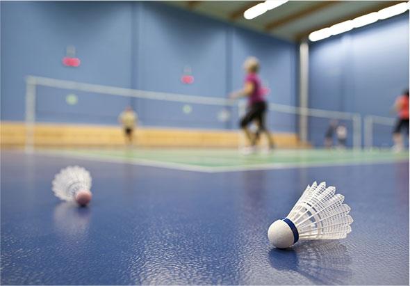 Dimensions de terrain de badminton
