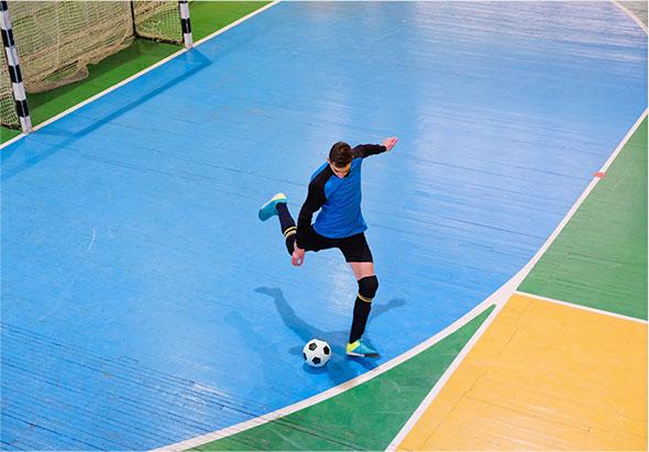 Dimensions de terrain de futsal
