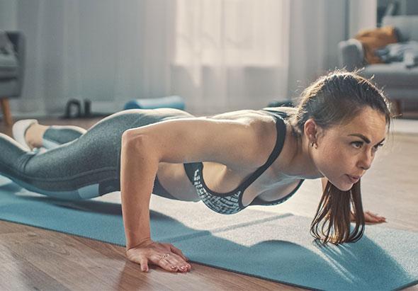 Circuit training full body