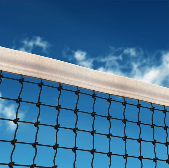 Le filet de tennis