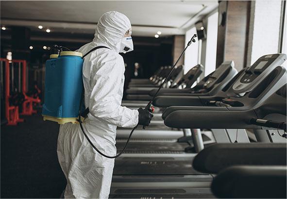 Nettoyage de surfaces à risque infectieux