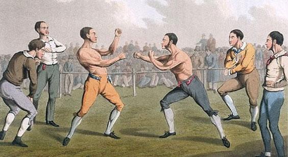 Règles de la boxe anglaise