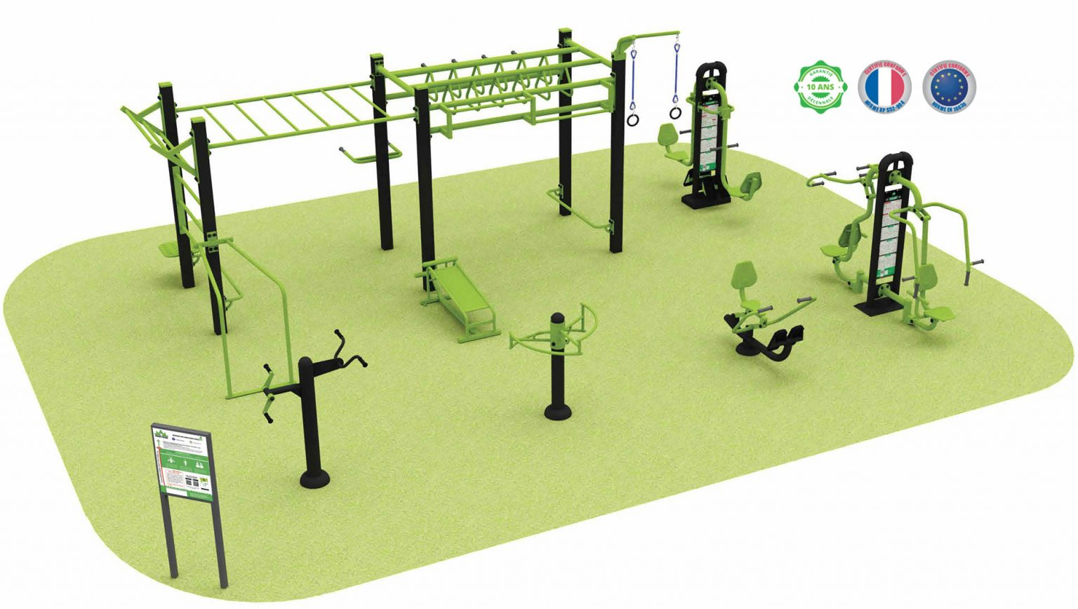 Fitness & Street-Workout : offre complète