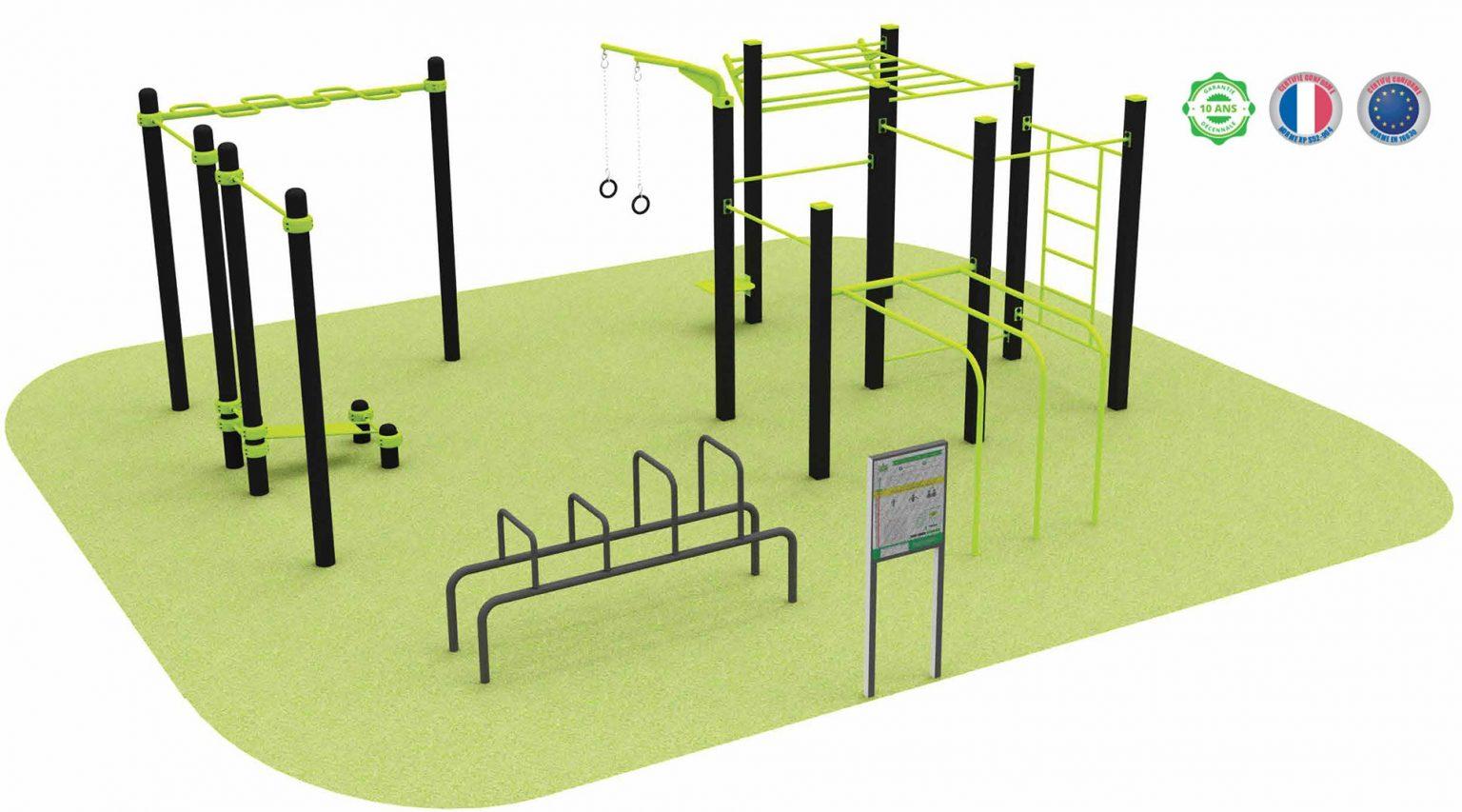 Street-Workout : offre sport