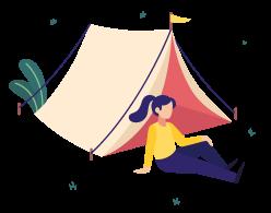 Bivouac ou camping sauvage
