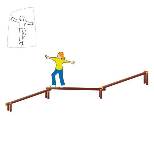 La poutre d'équilibre